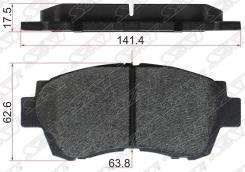 Колодки тормозные fr toyota mark2, crown 2.5-3.0 Sat, правый передний
