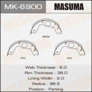 Колодки тормозные стояночного тормоза Masuma