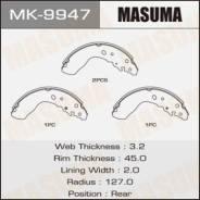 Колодки тормозные задние Masuma