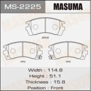 Колодки дисковые передние Masuma