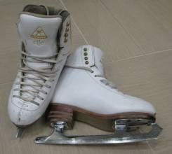 Профессиональные коньки для фигурного катания Jackson Elle DJ2130. размер: 36, фигурные коньки