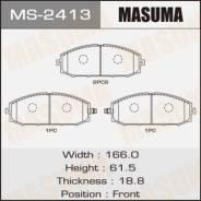 Колодки тормозные дисковые, комплект Masuma