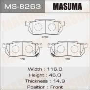 Колодки тормозные передние комплект Masuma