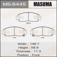 Колодки тормозные передние Masuma