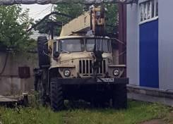 Ивановец КС-3574. Автокран КС3574 Ивановец на базе Урал 5557, 14 000кг., 14м.
