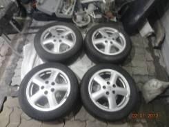 "Комплект резины Dunlop Lemane 205/55/16 c дисками Tourer S без пробега. x16"" 5x114.30 ЦО 161,0мм."