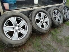 """Диски для Land Rover с отличными шипованными шинами 265/60/18. 8.0x18"""" 5x120.00 ET53 ЦО 72,6мм. Под заказ"""