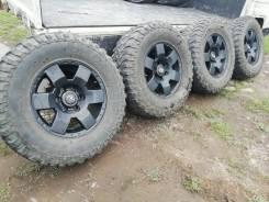 """Редкие Оригиналы R17 Toyota +грязные шины 285/70/17 . 7.5x17"""" 6x139.70 ET15. Под заказ"""