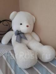 Плюшевый медведь белый 130см