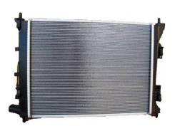 Радиатор охлаждения двигателя. Kia Rio, QB, UB Kia Pride Hyundai Solaris, RB Hyundai Accent Hyundai i20 Двигатели: D3FA, D4FC, G4FA, G4FC, G4FD, G4FG...