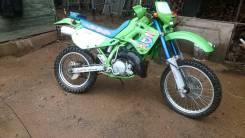 Kawasaki KDX 250. 250куб. см., исправен, птс, с пробегом