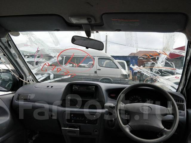 Стекло лобовое. Toyota: Lite Ace, Lite Ace Noah, Town Ace, Van, Town Ace Noah Двигатели: 2C, 3CE, 3SFE, 5K, 7K, 7KE, 3CT, 3CTE
