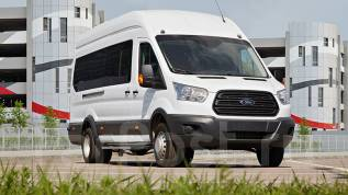 Ford Transit Shuttle Bus. Ford Transit Автобус 17+0, 2 200 куб. см., 1 800 кг.