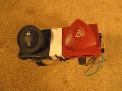 Кнопка включения аварийной сигнализации. Renault Megane Двигатели: F4R, F9Q, K4J, K4M, K9K, M9R
