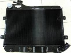 Радиатор охлаждения двигателя. Лада 2105, 2105 Лада 2101, 2101 Лада 2102, 2102 Двигатели: BAZ2101, BAZ21011, BAZ2103, BAZ2104, BAZ2105, BAZ2106, BAZ34...