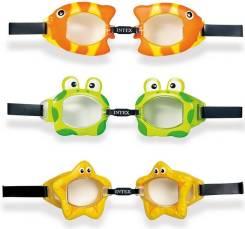 Очки для плавания 3-8 лет