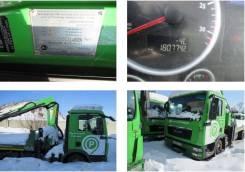 MAN TGL. Эвакуатор с кму, на шасси 12/180 4x2 BB, 3 000куб. см., 5 000кг.