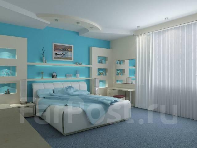 По дизайн проектам. Отделка ПОД КЛЮЧ. Тип объекта квартира, комната, срок выполнения неделя