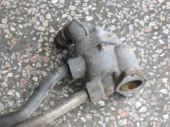 Корпус термостата FP-DE, с трубками, Mazda Premacy, CP8W, б/у.