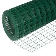Сетка заборная ОЦ ПВХ 2,5*50*100мм разм.1,5*20 зеленая