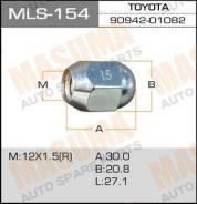 Гайка MLS154 12x1,5 под ключ 21мм MASUMA