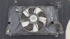 Радиатор охлаждения двигателя. Toyota Corolla Fielder, NZE144, NZE144G Двигатели: 1NZFE, 1NZFXE