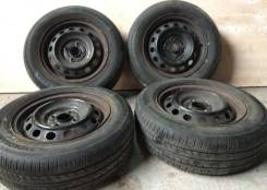 "Yokohama BluEarth 185/65R14 Japan + Штамповка 14x5.5J. 5.5x14"" 4x100.00 ЦО 54,0 мм."