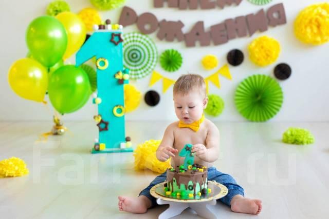 Фотосессия Первого годика. Крушение тортика