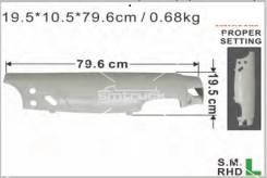 Панель кабины. Isuzu Forward, FRR5MF, FRR5WF, FRR6MF, FSR5MF, FSR5WF, FSR6MF, FSR6VF, FTR5MC, FTR5MF, FTR5WF, FTR6MC, FTR6MF, FTR6VF