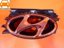 Эмблема решётки радиатора Hyundai Solaris 2