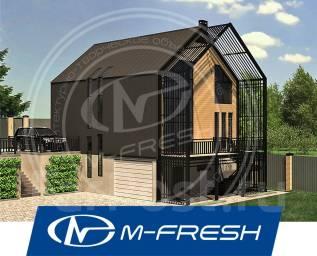 M-fresh Kaskad (В цоколе проекта дома технические помещения). 200-300 кв. м., 3 этажа, 5 комнат, бетон