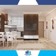 Дизайн интерьера квартиры Хабаровск 800 руб кв. м.