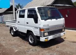 Toyota Hiace. Toyota HiAce 4WD, двухкабинник+ борт, 2 500куб. см., 1 500кг., 4x4
