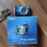 Canon PowerShot SX200 IS. 10 - 14.9 Мп, зум: 12х