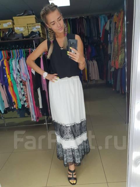 a4a3aa9baf1 Женская юбка! Белая - Основная одежда во Владивостоке