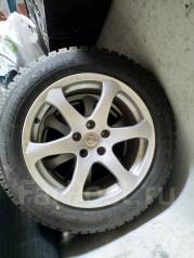 """Продам комплект колес 215/60 R17 зимние, шипованные. 8.0x17"""" 5x114.30 ET17"""