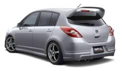 Губа. Nissan Tiida, C11, JC11, NC11 Двигатели: HR15DE, HR16DE, MR18DE. Под заказ