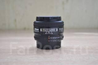 Продам объектив Объектив Nikon 50mm f/1.4D AF Nikkor