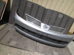Бампер. Nissan Tiida Latio, SC11, SJC11, SNC11, SZC11 Nissan Tiida, C11, C11X, JC11, NC11, SC11 Двигатели: HR15DE, HR16DE, MR18DE