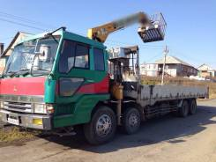Mitsubishi Fuso Super Great. Продам манипулятор Mitsubishi Fuso, 16 750 куб. см., 15 000 кг.