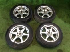 """Комплект колес Bridgestone B500 SI 195/60R15 ЛЕТО. 6.0x15"""" 5x100.00 ET50 ЦО 56,1мм."""