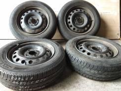 "Dunlop Enasave EC202 175/65R14 + Штамповка 14x5 4x100 HUB60. 5.0x14"" 4x100.00 ЦО 60,0мм."
