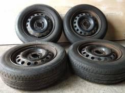"""Bridgestone Nextry 165/70R14 Japan + Штамповка 4x100 14x5 HUB60. 5.0x14"""" 4x100.00 ЦО 60,0мм."""
