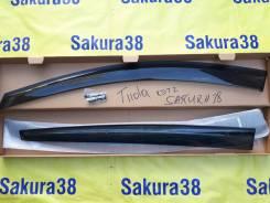 Ветровик на дверь. Nissan Tiida, C11, JC11, NC11, SC11 Двигатели: HR15DE, HR16DE, MR18DE