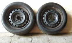 Bridgestone Nextry 195/60R15 Japan + Штамповка 15x5.5 5x114.3 HUB65
