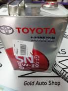 Toyota. Вязкость 5w30