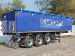 MEGA. Новые самосвальные полуприцепы 42 куб. м, 33 950кг.