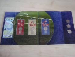 Монеты и банкнота Чемпионат мира по футболу-2018 в красочном альбоме