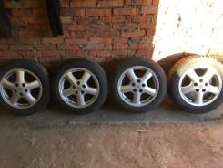 """Продам колеса tourer V с зимней шипованной резиной. 6.5/7.5x55"""" 5x114.30 ET50/55 ЦО 60,0мм."""