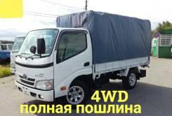 Toyota ToyoAce. 4WD, борт + легкосъемный тент, 3 000куб. см., 1 500кг.